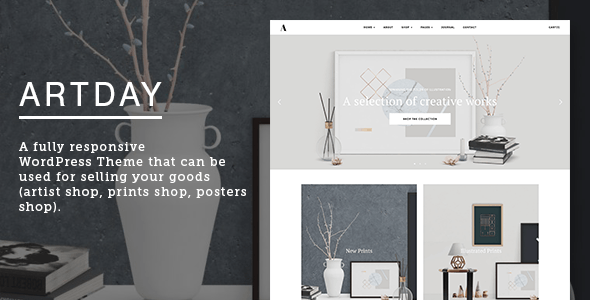 Artday Best WordPress themes for Artists