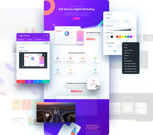 Divi - Best WordPress Themes For Business