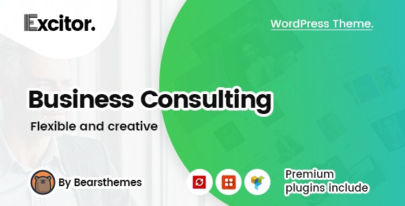 Excitor WordPress Themes for Business